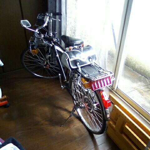 ナショナル エレクトロボーイ 24インチ  フラッシャー自転車