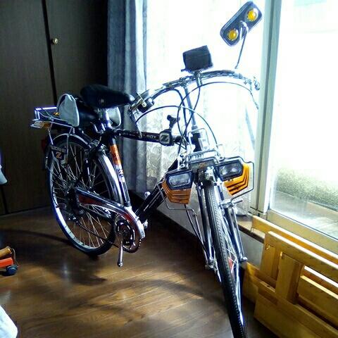 ナショナル エレクトロボーイ 24インチ  フラッシャー自転車_画像2