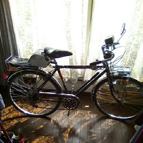 ナショナル エレクトロボーイ 24インチ  フラッシャー自転車_画像3