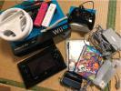 WiiU プレミアムセット 32GB ブラック 〈スプラトゥーン、マリオカート付き〉