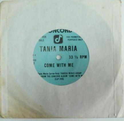 MURO【USA プロモ7インチ】TANIA MARIA / COME WITH ME 【SOUL / LATIN JAZZ】