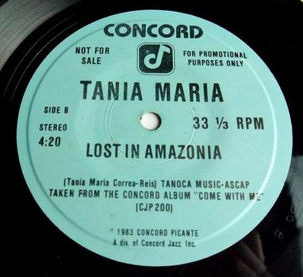 MURO【USA プロモ7インチ】TANIA MARIA / COME WITH ME 【SOUL / LATIN JAZZ】_画像3