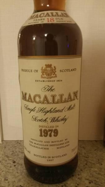 超貴重 オフィシャル マッカラン 1979年 700ml 43%