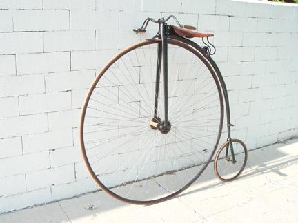 鑑定書あり コヴェントリー・ミシン社製 1888年 ビンテージ 自転車 / Circa 1888 the UK, Coventry Sewing Machine Co., Ltd.