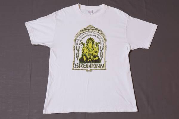 ☆ブラフマン☆BRAHMAN☆白/サイズL/ロックバンドTシャツ☆ハイスタンダード 横山健 ライブグッズの画像