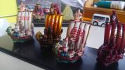 タカラ海洋堂コラボ七福神根付け宝船です