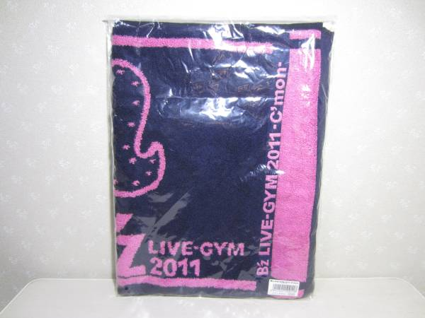 B'z LIVE-GYM 2011 C'mon ツアー タオル 未開封