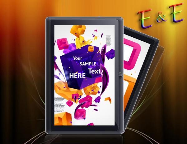 ★7型最新学習タブレット☆アンドロイド 4.4 ★ メールやeBook,カメラ等の機能も搭載!Youtube等多々サポート!_画像2