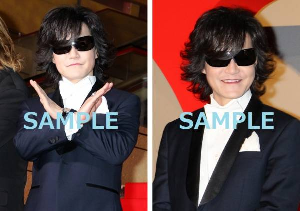 TOSHI【X JAPAN】『WE ARE X 完成披露 ジャパンプレミア』生写真