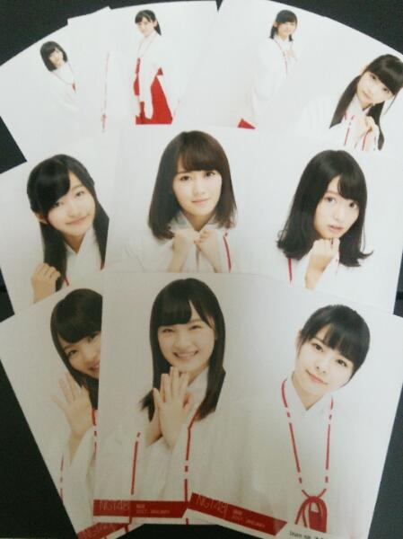 NGT48 2017年福袋 生写真10枚セット 送料無料 ライブグッズの画像