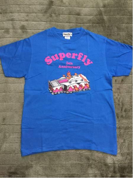 Superfly Tシャツ FC限定 ライブグッズの画像