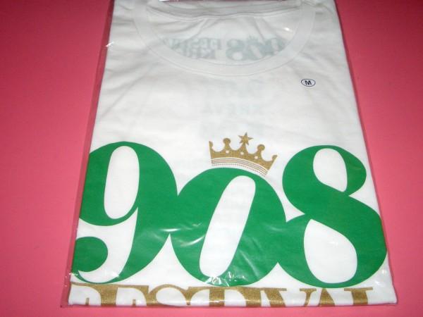 KREVA 「908 FESTIVAL」908 Tシャツ 白 ② Mサイズ 新品 クレバ