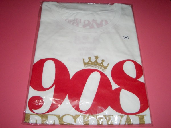 KREVA 「908 FESTIVAL in OSAKA」908 Tシャツ 白 ②Mサイズ 新品 大阪公演 クレバ