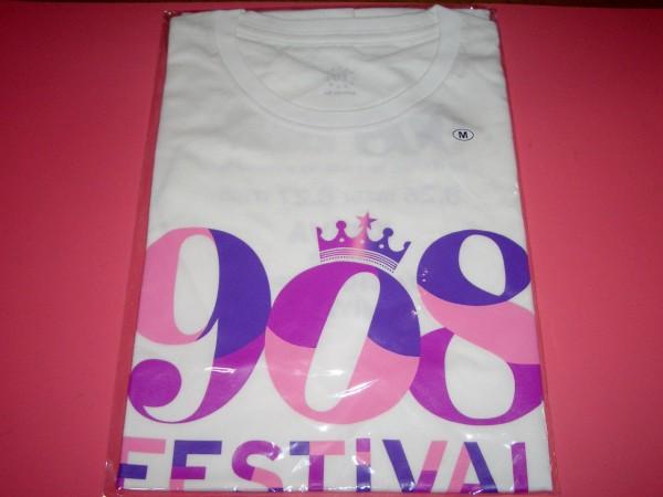 KREVA 「908 FESTIVAL in OSAKA」908 Tシャツ 白 ①Mサイズ 新品 大阪公演 クレバ
