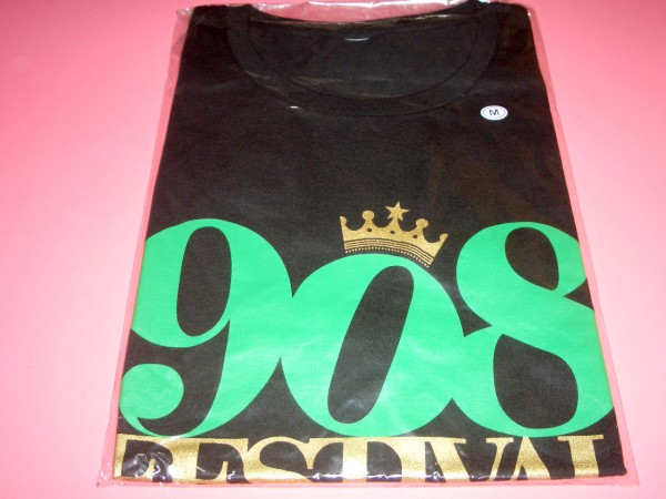 KREVA 「908 FESTIVAL」 908 Tシャツ 黒 Mサイズ 新品 クレバ