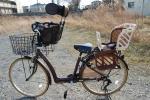 自転車の子供乗せキャリア★美品埼玉県
