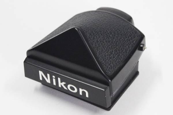 G03★現状品 Nikon F用 アイレベルファインダー 黒★