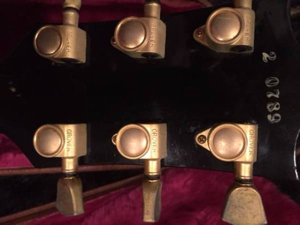 【製造年】1992年 Gibson 1957 Lp Custom Black Beauty 美品
