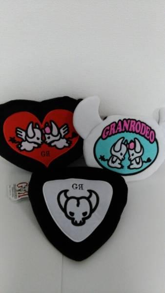 GRANRODEO ロジャー&ジーナ 刺繍フラットポーチ 全3種 ライブグッズの画像