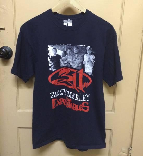 レア 311 ビンテージ Tシャツ ZIGGY MARLEY THE EXPENDABLES 2PAC SNOOP DOGG kanye カニエ nirvana rap tee M