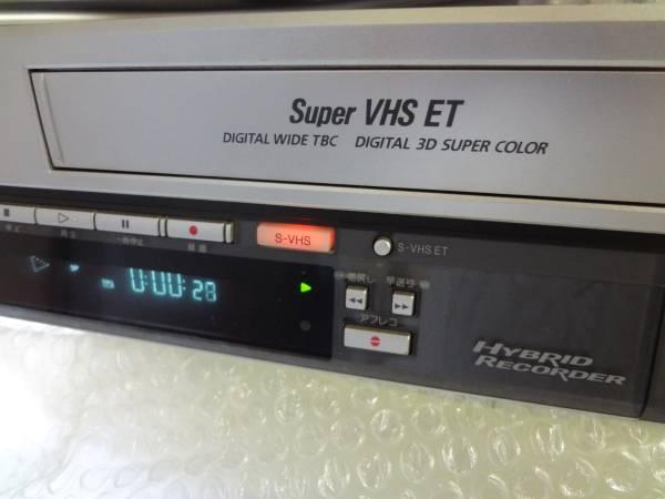 日本ビクター HD&S-VHSデッキ ジャンク品 _画像3