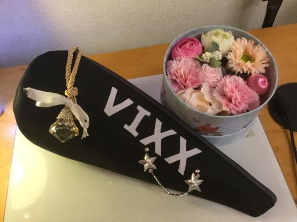 VIXXペンライトケース スパンコール ライブグッズの画像