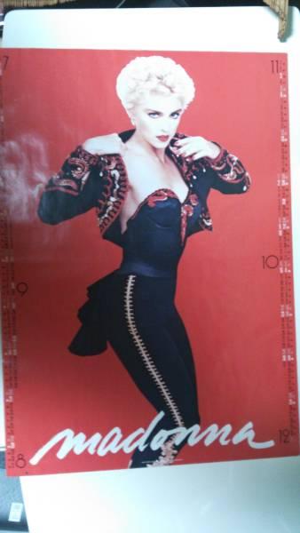 マドンナ-Madonna/'88-販促用非売品 You Can Dance 両面ポスター ライブグッズの画像