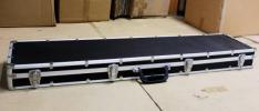 新品・訳あり●ハードガンケース120cm ライフルケース 黒 ブラック サバゲー 22E