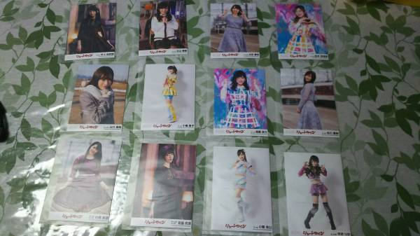 AKB48 「シュートサイン」劇場盤 生写真 宮脇咲良 白間美瑠 小栗有以 ライブ・総選挙グッズの画像