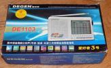 DEGEN DE1103 BCL短波ラジオ 愛好者3号 非DSP版 中古美品