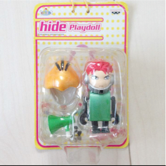 当時物 hide プレイドール フィギュア グッズ おもちゃ 玩具