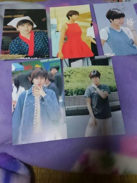 内田有紀☆ポストカード12枚セット☆95年 映画「花より男子」時代