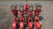 【熊本】サン機械工業 施肥播種機 さばける4連 美品