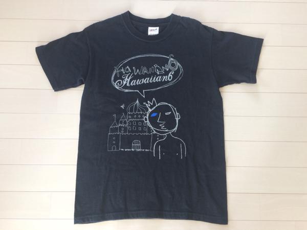 Hawaiian6 ハワイアン6 ikki not dead オリジナルTシャツ バンドT ライブT ロック パンク フェスなどお好きな方是非!