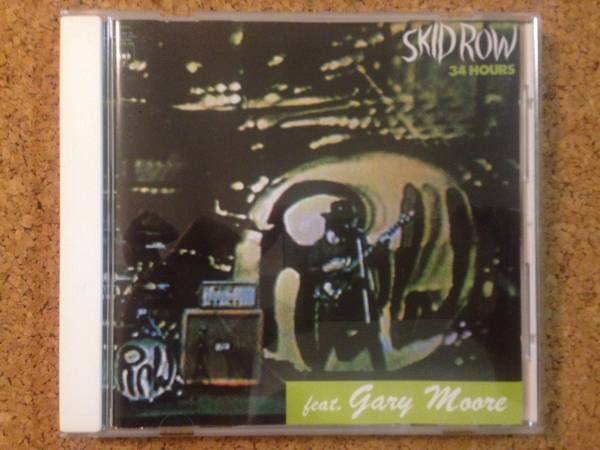 Skid Row Feat. Gary Moore - 34 Hours スキッド・ロウ ☆ 傑作CD_画像1