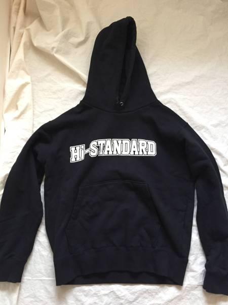 美品 Hi-STANDARD × FAT wreck chords スウェットパーカー サイズM 黒 ハイスタンダード ライブグッズの画像