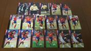 PANINI 2002W杯 韓国代表17枚カードセット 安貞桓 金度勲 ファン・ソンホンなど