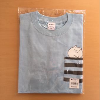 ♪ ロフト限定&完売品 うさまる ポケットTシャツ ブルー 新品タグ付未開封品 ♪ グッズの画像