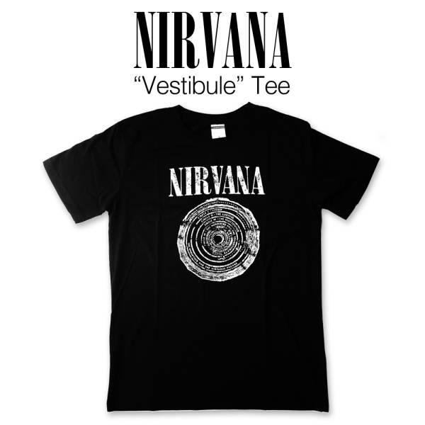 Nirvana Vestibule Tee / ニルヴァーナ ニルバーナ カートコバーン ロック バンド Tシャツ XLサイズ DM便 送料無料 洋楽 レジェンド