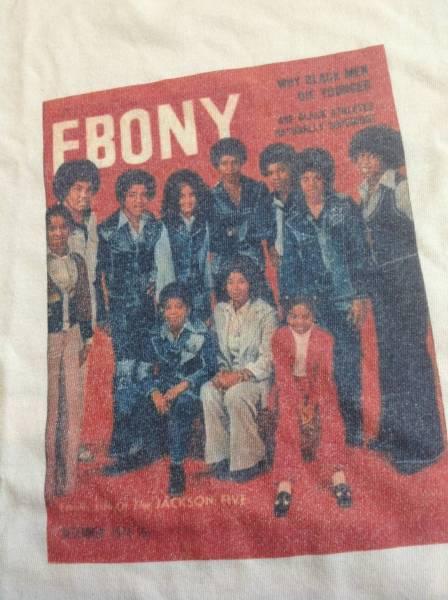 USA製 ジャクソンズファミリー マイケルジャクソン 半袖TシャツLサイズ ライブグッズの画像