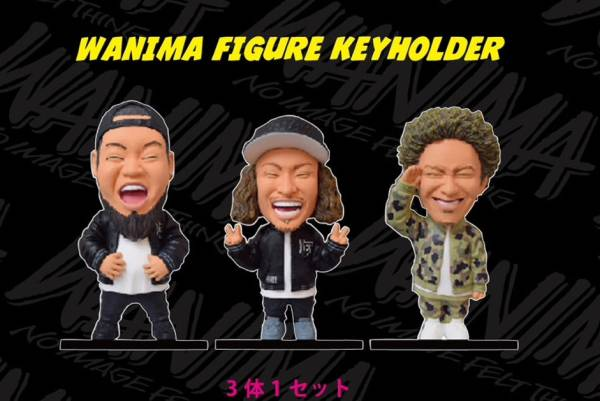 WANIMA さいたま限定フィギュア 新品/Ken Yokoyama フォーリミ マンウィズ ライブグッズの画像