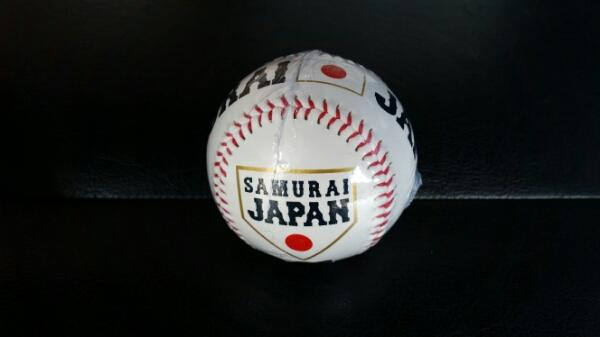 侍ジャパン 記念サインボール WBC グッズの画像