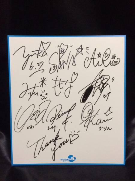 Prizmmy☆&プリズム☆メイツ メンバー直筆サイン入り色紙 Prism☆Box プリズミー プリパラ