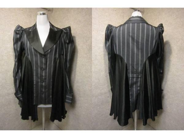 【ヒロコ コシノ HIROKO KOSHINO】パフスリーブ デザインジャケット 9 KS1078F_画像1