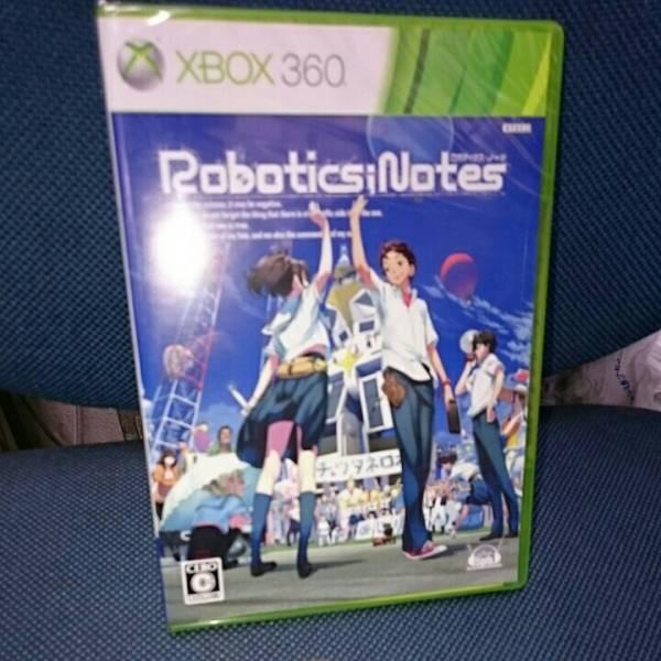 XBOX360 新品 ロボティクスノーツ