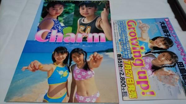 大島優子・田島穂奈美 写真集「charm」初版