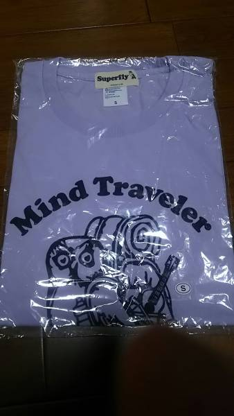 Superfly 3rd Album 『Mind Travel』 リリース記念Tシャツ 未使用 グリュック スーパーフライ 越智志帆 ライブグッズの画像
