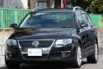 【美車 V6 4モーション】08y フォルクスワーゲン パサートヴァリアント V6 4MOTION 黒革パワーシート HDDナビ 地デジ DVD再生 検付 AWD