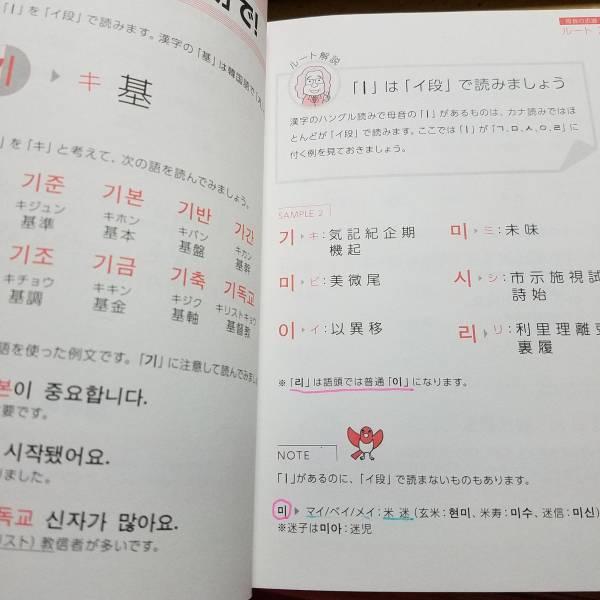 ■漢字のハングル読みをマスターする40の近道■韓国語学①単語集兼若逸之_画像2