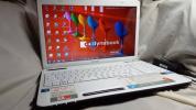 東芝 dynabook/白/EX48/ T350/Core i5/520M/2.93GHz/ターボブースト/Office2016Pro/320G/Win7